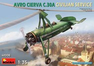 MiniArt Models  1/35 AVRO CIERVA C.30A CIVILIAN SERVICE MNA41006