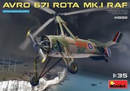 MiniArt Models  1/35 Avro 671 Rota Mk I RAF Two-Seater Autogyro (New Tool) (SEP) MNA41008