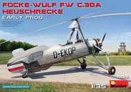 MiniArt Models  1/35 Focke Wulf Fw.C30A Heuschrecke Early Production Two-Seater Autogyro (OCT) MNA41012