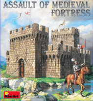 Assault of Medieval Fortress w/Figures (replaces 72004) #MNA72033