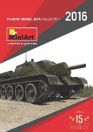 MiniArt Models   N/A Miniart 2016 Catalog MNACATALOG