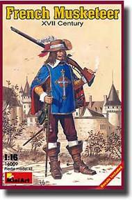 MiniArt Models  1/16 French Musketeer, XVII Century MNA16009