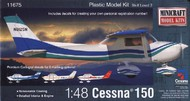 Minicraft  1/48 Cessna 150 Aircraft- Net Pricing MMI11675