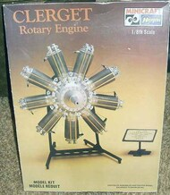 Collection - Clerget Rotary Engine #MMI1200