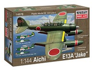 Minicraft  1/144 Aichi E13A Jake IJN Recon/Patrol Bomber- Net Pricing MMI14678