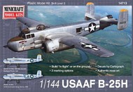 Minicraft  1/144 B-25H Usaaf- Net Pricing MMI14713