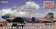 Minicraft  1/144 AC-47D Spooky Aircraft (New Tooling for Gunship) - Pre-Order Item MMI14732