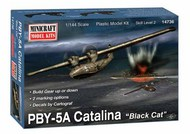 Minicraft  1/144 PBY 5/5A Catalina Aircraft - Pre-Order Item MMI14736
