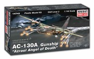 Minicraft  1/144 AC-130A Azrael Angel of Death Gunship Aircraft MMI14742