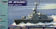 "Mirage Hobby  1/400 ORP ""Metalowiec"" Project 1241.1 Tarantul Missile Corvette Class Ship MIR40032"