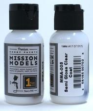 Mission Models Paints   N/A Semi Gloss Clear Coat MMA005