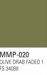 Mission Models Paints  Mission Model Armor US Army Olive Drab Faded 1 FS 34088 MMP020