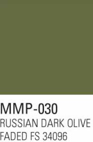 Mission Models Paints  Mission Model Armor Russian Dark Olive Faded 1 FS 34096 MMP030