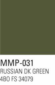 Mission Models Paints  MMPArmor Russian Dark Green 4BO FS 34079 MMP031