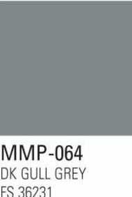 Mission Models Paints  Mission Model Aircraft Dark Gull Grey FS 36231 MMP064
