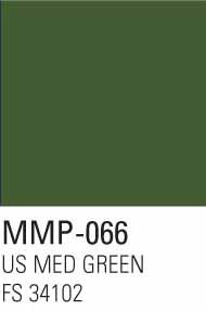 Mission Models Paints  Mission Model Aircraft US Medium Green FS 34102 MMP066