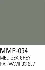 Mission Models Paints  Mission Model Aircraft Medium Seagrey RAF WWII BS 637 MMP094