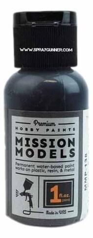 Mission Models Paints   N/A MMP138 Acrylic Model Paint 1oz Bottle Extra Dark Sea Grey RAF MMP138