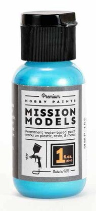 Mission Models Paints   N/A MMP160 Iridescent Duck Teal MMP160