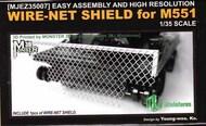 M-551 Sheridan Wire-Net Shield #MJMEZ35007