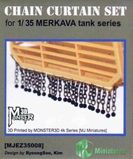 Chain Curtain Set for Merkava Tanks #MJMEZ35008