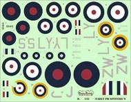 Early PR Supermarine Spitfires PR Mk.ID, Mk.ID Trop, PR Mk.IF, #D48132