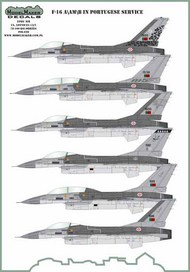 Lockheed-Martin F-16A/AM/B/BM in Portuquese service #D48136