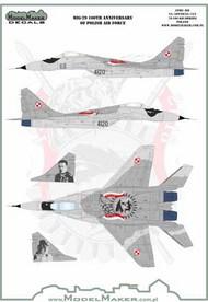 Mikoyan MiG-29 100th Anniversary of Polish Air Force #D72124