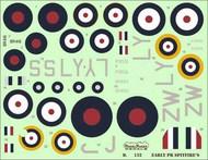 Early PR Supermarine Spitfires PR Mk.ID, Mk.ID Trop, PR Mk.IF, #D72132