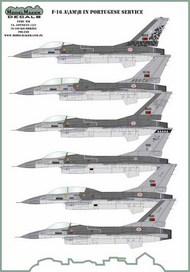 Lockheed-Martin F-16A/AM/B/BM in Portuquese service #D72136