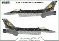 Lockheed-Martin F-16C Fighting Falcon Viper Demo Team 'VENOM' #D72157