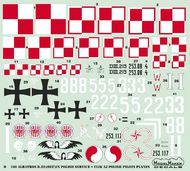 Albatros D.III (OEF) in Polish Service + Flik 3J Polish pilots planes #MMD72100
