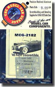 Model Car Garage  1/25 '40 Ford Convertible Detail MCG2182