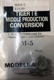 Tiger I middle model Conv kit #MKSM5