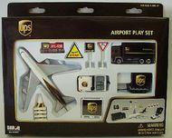 Model Power Planes  HO Ups Airport Set DAR4341