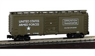 Model Power  N 40' Ammunition Boxcar US Army - Pre-Order Item MDP83715
