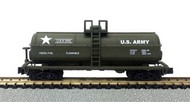 Model Power  N 40' Chemical Tank Car US Army - Pre-Order Item MDP83759