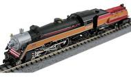 Model Power  N N USRA 4-6-2 Semi Streamliner Pacific Locomotive w/Vandy Oil Tender Southern Pacific (D)- Net Pricing MDP87429