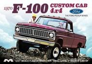 Moebius  1/25 1970 Ford F100 Custom Cab 4x4 Pickup Truck - Pre-Order Item MOE1230