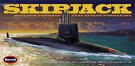Moebius  1/72 USS Skipjack Nuclear-Powered Fast-Attack Submarine MOE1400