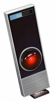 "Moebius  1/1 2001 Space Odyssey: HAL9000 w/LED Red Light (13.75"") MOE20015"