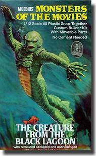 Moebius  1/12 Creature from the Black Lagoon MOE653