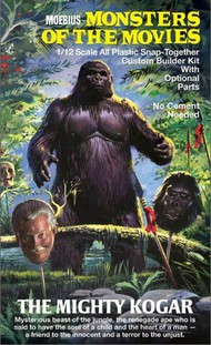 Moebius  1/12 Monster of the Movie: The Mighty Kogar Snap Kit MOE659