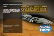 Moebius  1/4105 Battlestar Galactica Original 1978: Galactica Battlestar MOE942