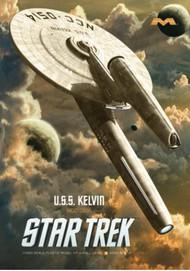 Moebius  1/1000 Star Trek (2009): USS Kelvin Starship MOE976