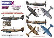 Supermarine Spitfire Mk.IXc/Mk.Ixe Masks #MXK48369