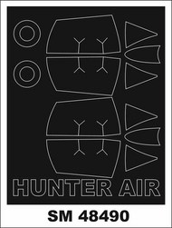 Hawker Hunter F.6 (outside, inside) #MXSM48490