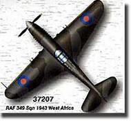Easy Model  1/72 P-40B/C Warhawk RAF 349th Sqn. 1943 West Africa WWII MRC37207