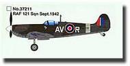 Easy Model  1/72 Spitfire MK.V RAF 121st Sqn. Sept. 1942 WWII MRC37211