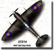 Easy Model  1/72 Spitfire MK.V RAF 303rd Sqn. 1942 WWII MRC37214
